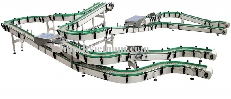 Intech Plastic Chain Conveyor System